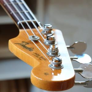 Fender Jazz -66 Neck rebuild