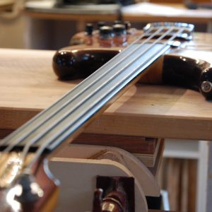fretless ebony board conversion